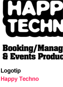 Logotip - Happy Techno Booking&Management