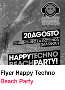 Flyer-Beach Party